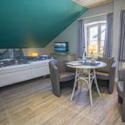Haus Sterntaler: Zimmer Froschkönig auf Sylt