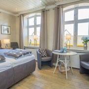 Haus Sterntaler: Zimmer Schneewittchen auf Sylt