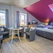 Haus Sterntaler: Zimmer Frau Holle auf Sylt